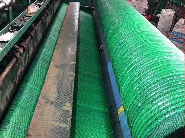 平织绿色防尘网